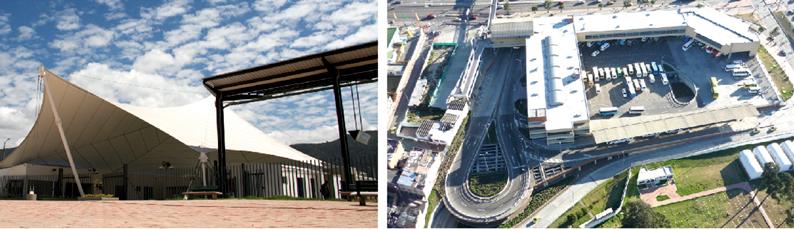 La Terminal de Bogotá, la más Grande del País con 35 años de trayectoria