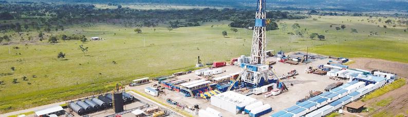 Producción de petróleo y gas en enero, las más altas desde 2016
