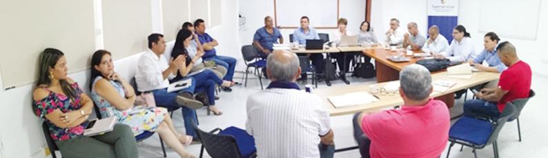 Con la participación de las fuerzas vivas de Cartago, se avanza en la estructuración de la solución empresarial para la intervenida Emcartago