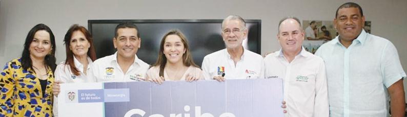 Gobernadores de la Costa Caribe y MinEnergía firman compromiso con la transformación energética del país